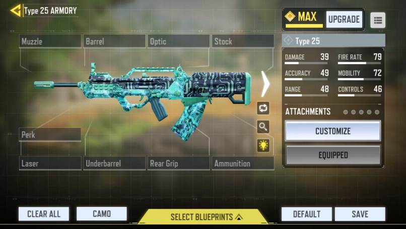 COD Mobile Type 25