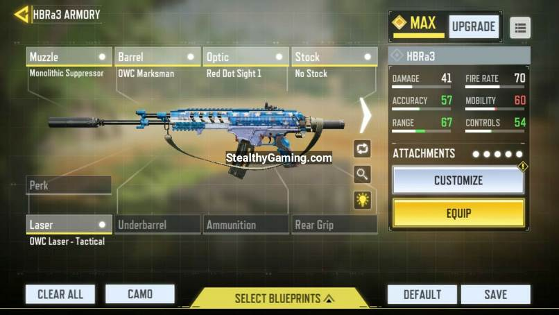 Call of Duty Mobile HBR