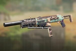 COD Mobile HG 40 Gunsmith