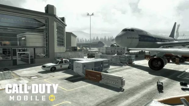 Call of Duty Mobile Terminal map