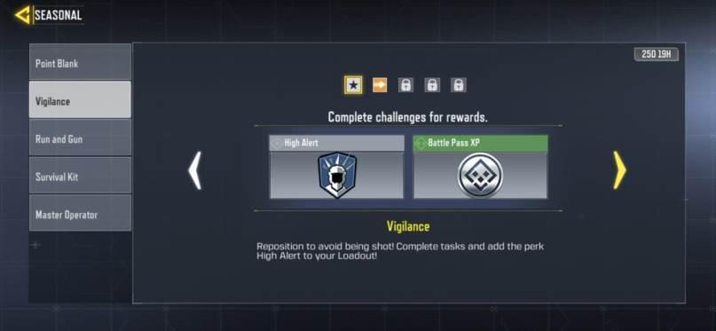 Call of Duty Mobile Vigilance