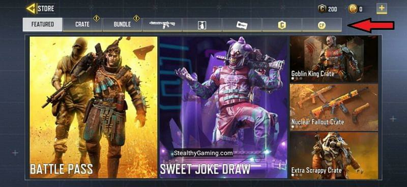 Call of Duty Mobile Store