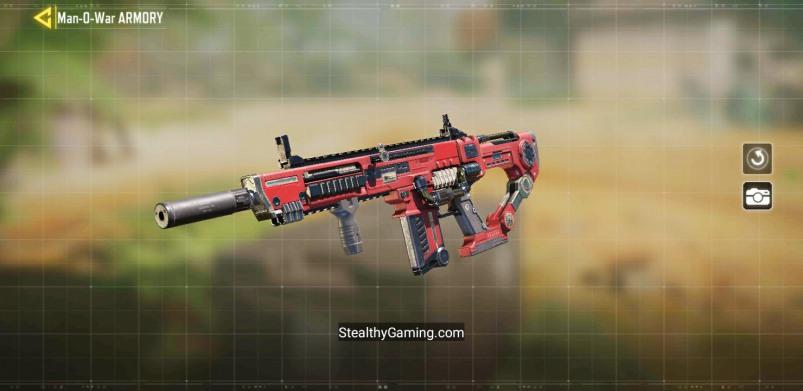 MAN-O-WAR Cardinal epic skin