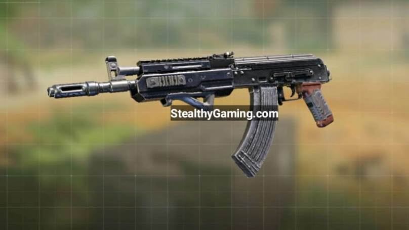 COD Mobile AK-47 Gunsmith Loadout