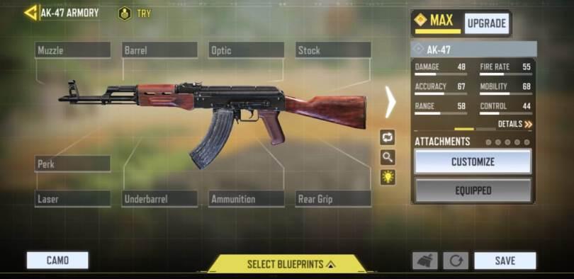 COD Mobile AK-47