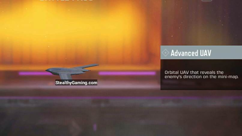 Call of Duty Mobile Advanced UAV