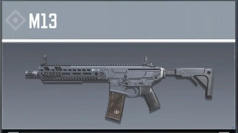 M13 Season 12 leaked weapon