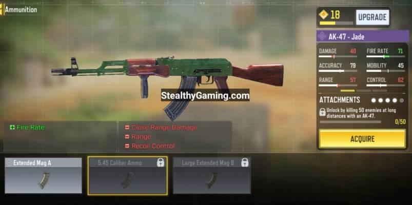 unlock AK-47 5.45 Caliber Ammo