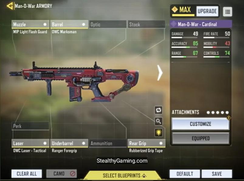 iFerg MAN-O-WAR Gunsmith build