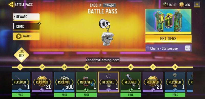 Statuesque Charm Premium Battle PASS