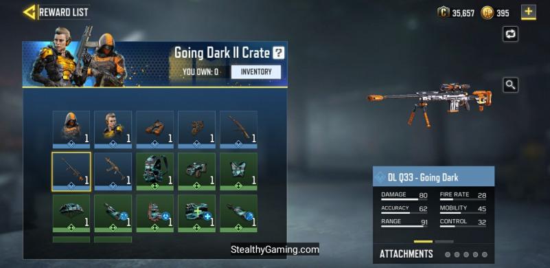 Going dark crate II free