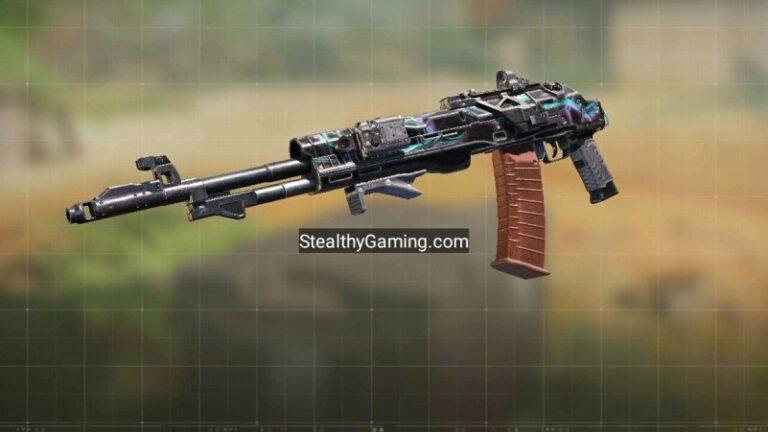 COD Mobile ASM-10 Fast Mobility Gunsmith build