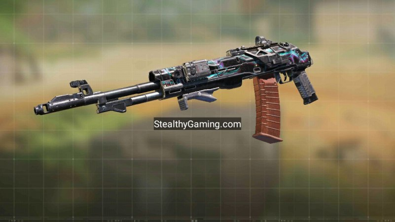 COD Mobile ASM-10 Fast Mobility Gunsmith build