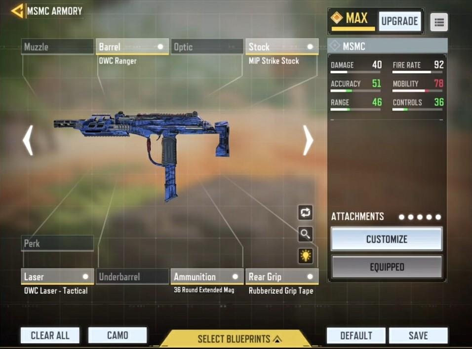 MSMC Low recoil gunsmith