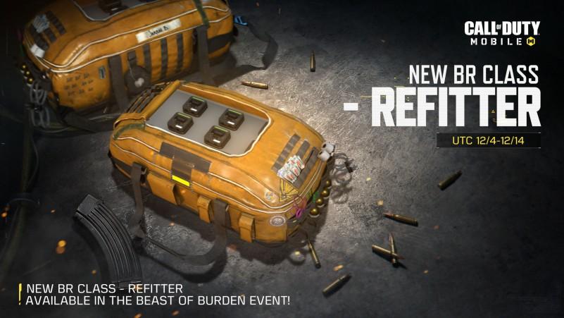 Refitter Class COD Mobile BR