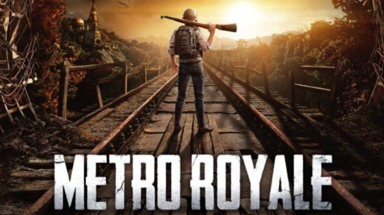 Pubg Mobile metro royale evac flare gun