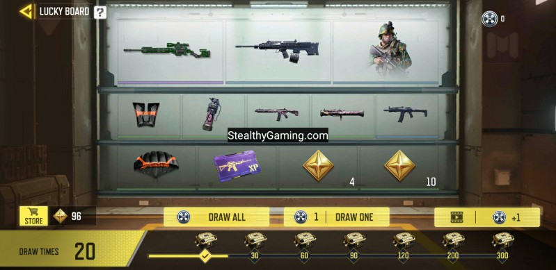 watch ads to earn rewards cod mobile lucky board