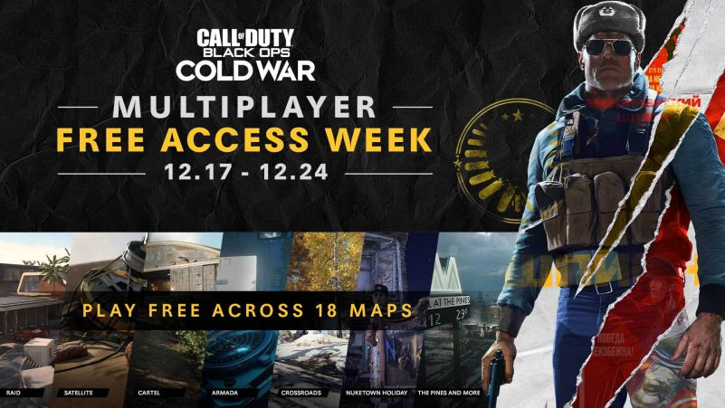 Black ops cold war free access week cod