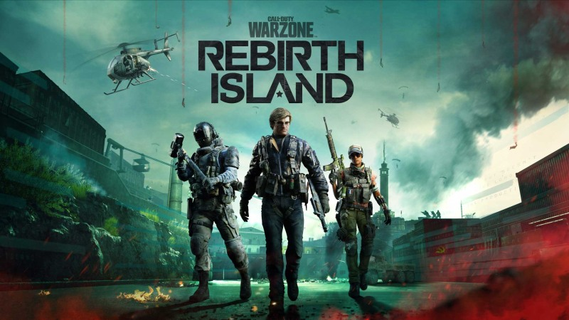 COD Rebirth Island Poster