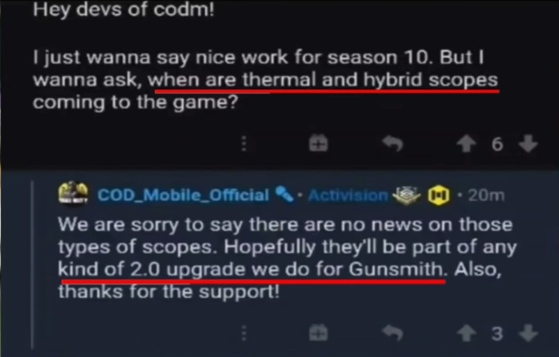 cod mobile gunsmith 2.0 update