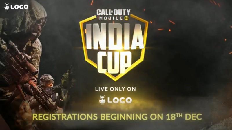 LOCO COD MOBILE TOURNAMENT IN INDIA