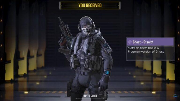 Ghost stealth cod mobile season 13