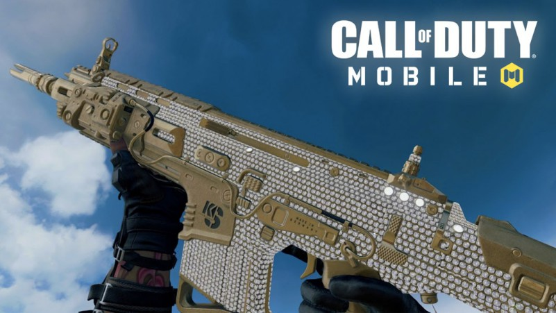 COD MOBILE DIAMOND CAMO SKIN SEASON 13