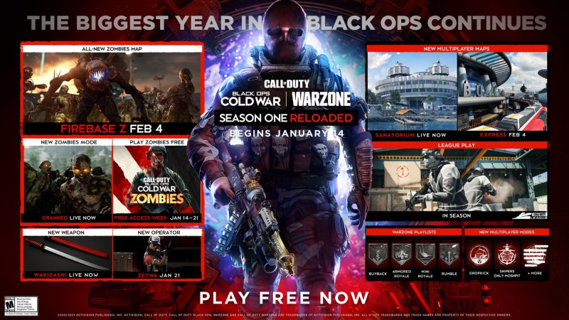 black ops cold ware new update