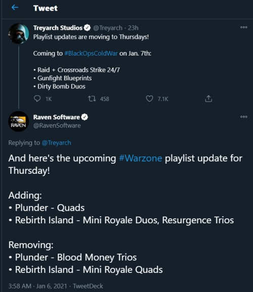 cod warzone and black ops cold war update