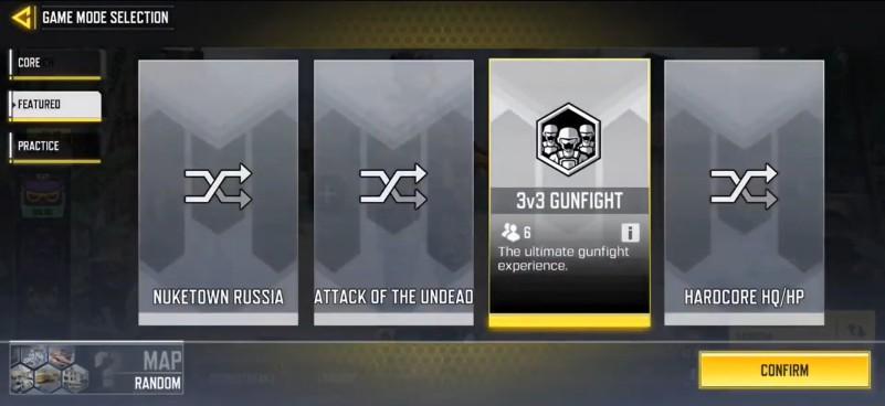 3V3 GUNFIGHT MODE COD MOBILE SEASON 14
