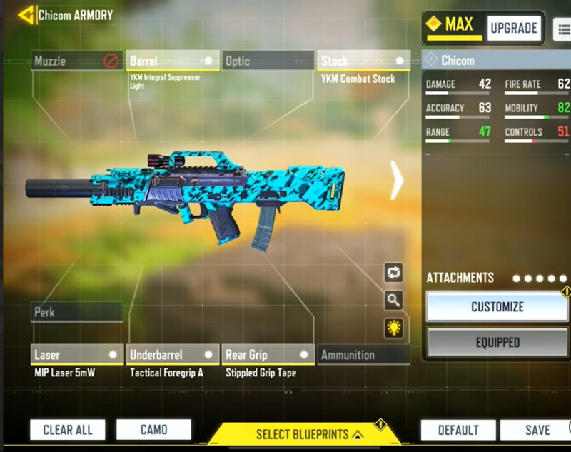 high mobility chicom loadout cod mobile