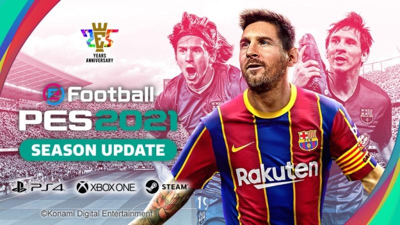 eFootball PES 2021 Data Pack 4