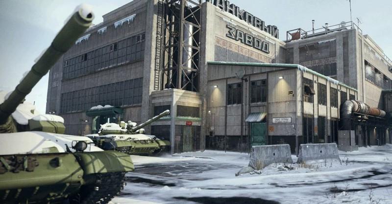 Mialstor tank factory cod modern warfare 2019