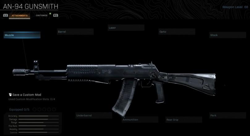 AN94 Base Weapon