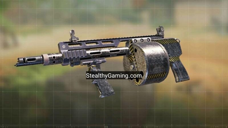 Striker shotgun gunsmith loadout cod mobile