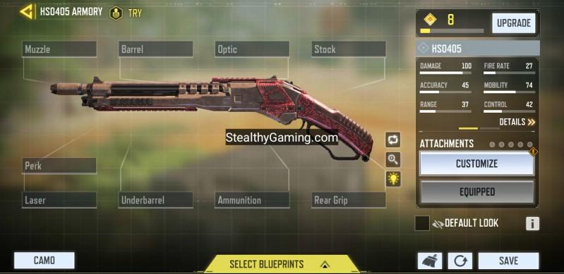 hs0405 shotgun base variant no attachments