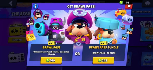 Brawl Stars Brawl Pass