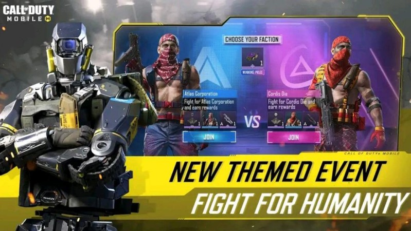 fight for humanity cod mobile