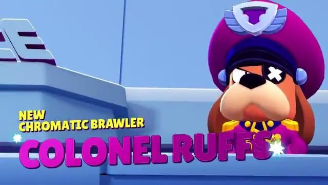 Brawl Stars Colonel Ruffs