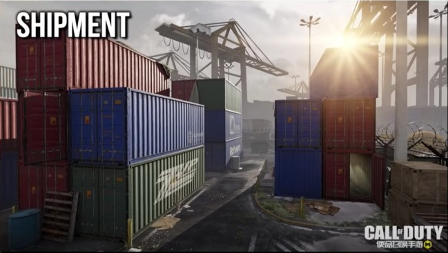 Shipment map