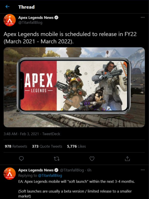 apex legends mobile version