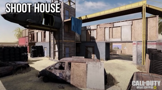 ShootHouse map
