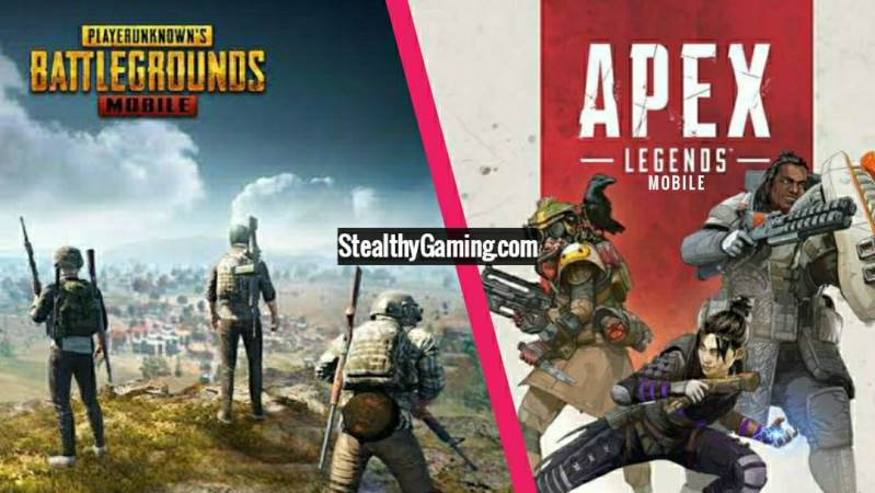 PUBG Mobile vs Apex Legends Mobile
