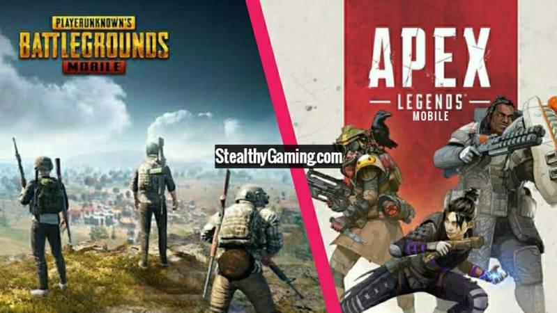 PUBG Mobile vs Apex Legends Mobile