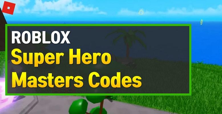 Superhero Masters - Working Promo Codes Roblox