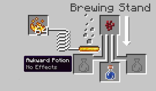Invisibility potion minecraft