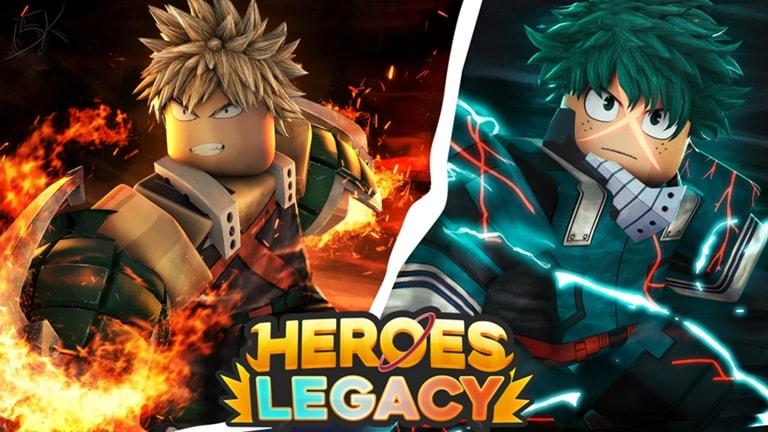 Roblox: Heroes Legacy Codes 2021
