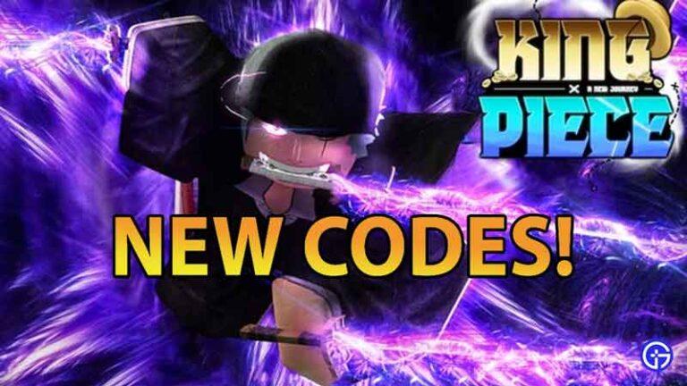 Roblox: King piece codes 2021